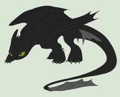 HTTYD Base 62~Nightfury 45~ by Xbox-DS-Gameboy