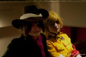 Pip and Seras by justinem1989