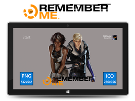 Remember Me Icon v2 by Ni8crawler