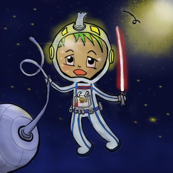 Space Chibi by rpjArt