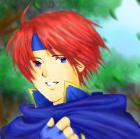 Coloring Of Enamtan's Roy by RoyLover