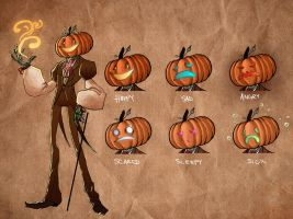 Johnny Pumpkinseed by alexa