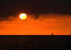French sunset by JeffStahl