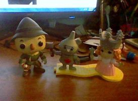 My New Wizard of Oz Toys by TheWizardofOzzy