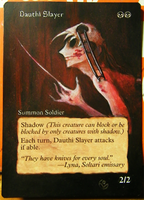 Altered card - Dauthi Slayer by JohannesVIII