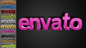 3D Warped Text Styles by stefusilviu