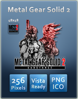 Metal Gear Solid 2 Icon by UltimateAoshi