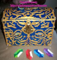 Boss Chest with Rupees by CosplayPropsEtc