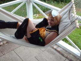 My Rin Kagamine Cosplay by DeathNoteE