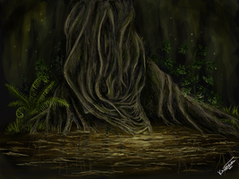 Tree spirit by Efflorescenc3