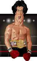 Sylvester Stallone by diplines