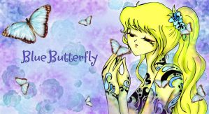 Blue Butterfly by RyeChan