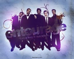 Entourage wallpaper by BlackSniperGFX