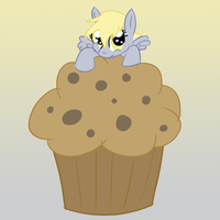 Giant Muffins by Zedrin