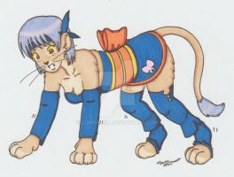 Ayane lioness TF by cqmorrell
