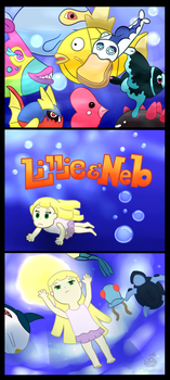 Lillie and Neb 2 WIP 2 by OzoneFruit