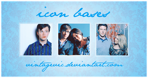 Glee Icon Bases by vintagevic