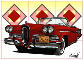 1958 Edsel Citation by Berlioz-II