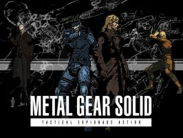 metal gear solid hurray by ajohnson-adam