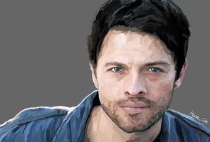 Misha Collins by Gottheart