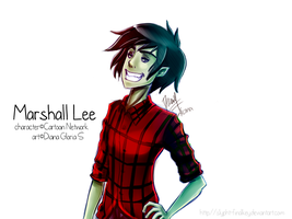 Sketch - Marshall Lee by Slypht