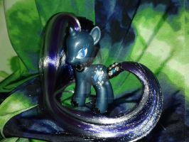 G4 My Little Pony Nightmare Rarity Custom by MikeysGrrrl