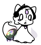 [OPEN] Napstablook Magifox Auction by Rivwaltz