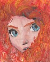 Merida by girlinthefloraldress