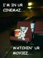 Fella at the Cinemaz by Kitten-of-Woe