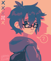 colour palette : Hiro Hamada by swanhili