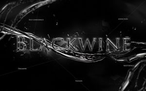 Blackwine Destructive lettering by TRANCE--fusion