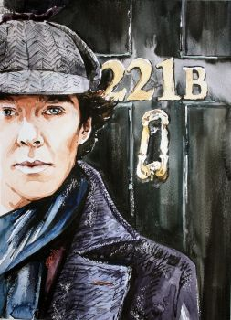 Baker Street 221B by ElenaShved