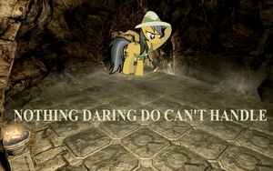 Daring Do and the mystery of Sky Haven Temple by NorroenDyrd