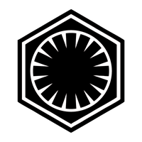 Emblem of the First Order (Black/White) by RedRich1917