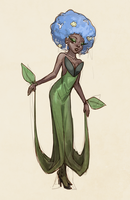 Florges Gijinka by Shattered-Earth