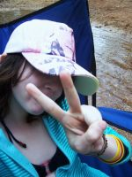 Peace Out? Yeh by hernameinfire