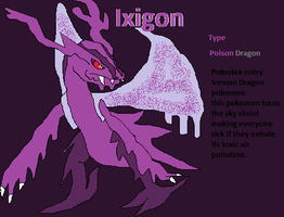 Pokemon Violet sky legendary: Ixigon by shadmart