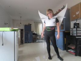 Black Frequency costume/Wings Complete 1 by Redrosesforever