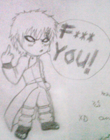Gaara the pissed chibi XD by IveWasHere
