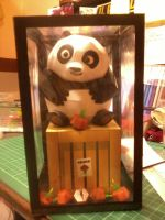 Kung Fu Panda-Baby Po by Mariannedee