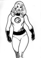 Fantastic Four Female by SuperPoser
