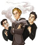 Buffy- The Trio by aerettberg