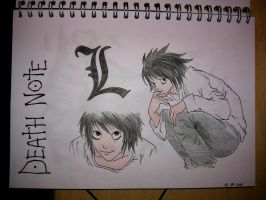 L - Death Note by LaDauty