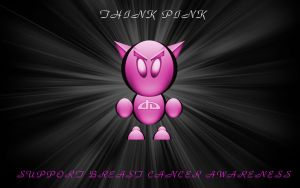 Think Pink Wallpaper by MikeyStudios