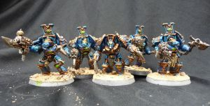 Thousand sons 2nd squad by Solav