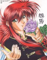 Kurama - Black and Red by Yuri-Nikko