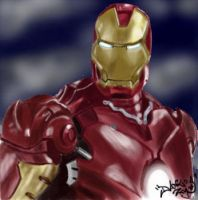 Iron Man by DanloS
