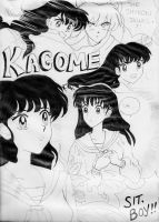 Kagome Collage by hollywood714