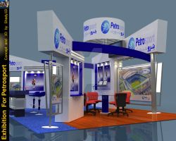 Exhibition design.. by Shady3D