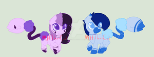 Cottom Mouth Adopts - Auction (1/2) OPEN by MH-The-Cat